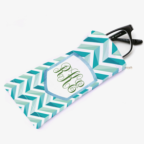 Monogram Chevron Eyeglasses Bag