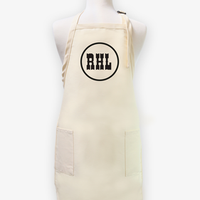 Monogram Personalized Men's Twill Apron