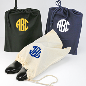 Monogram Shoe Bag