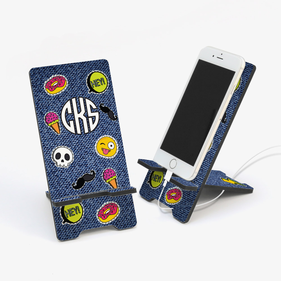 Monogram Treats Cell Phone Stand