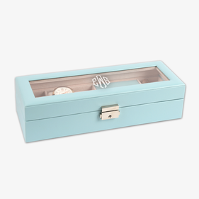 Monogram Watch Case & Jewelry Storage Valet