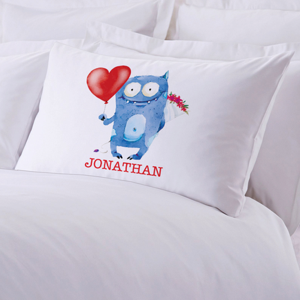 Monster Love Personalized Pillowcase