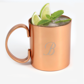 Moscow Mule Personalized Initial Mug