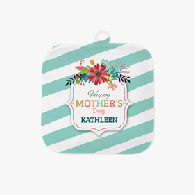 Mother's Day Personalized Pot Holder