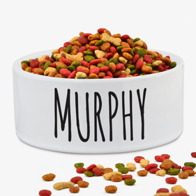 Murphy Personalized Pet Bowl