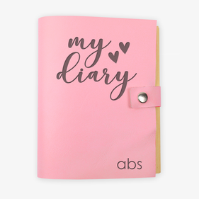 My Diary Personalized Kids Leather Journal