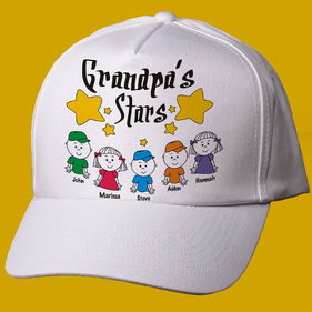 My Stars Personalized Father's Day Hat