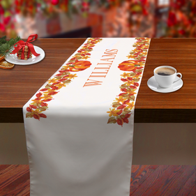 Name Center Personalized Table Runner