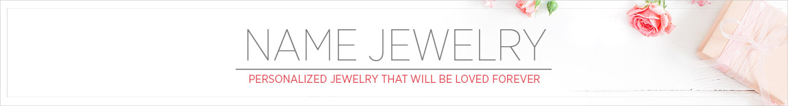 Name Jewelry - up to 60% Off Sale