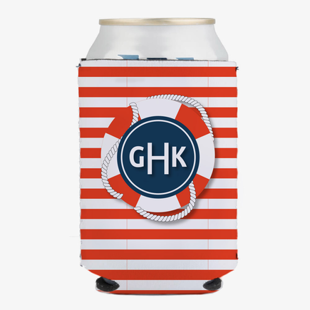 Nautical Design Custom Can Beverage Holder