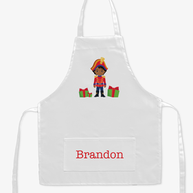 Nutcracker Custom Christmas Kids Apron