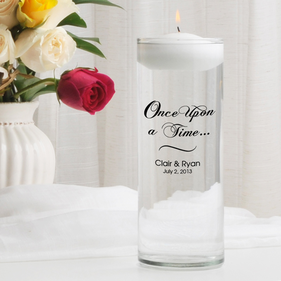 Once Upon A Time Floating Unity Candles