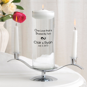 One Love Floating Unity Candle Set