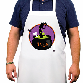 Personalized Halloween Adult Apron