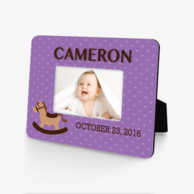 Personalized Baby Memory Hardboard Picture Frame
