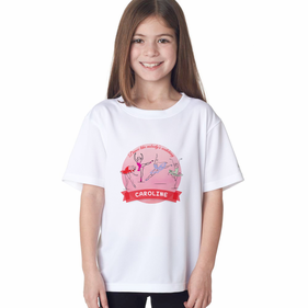 Personalized Ballerina T-Shirt for Girl