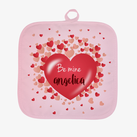 Personalized Be Mine Pot Holder