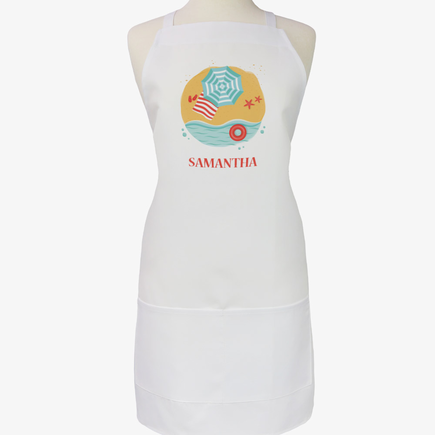 Personalized Beach House Adult Apron