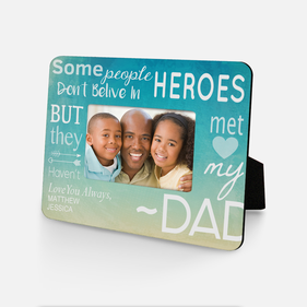 Personalized Best Dad Picture Frame