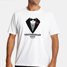Personalized Groomsman T-Shirt