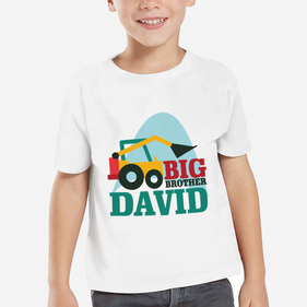 Exclusive Sale - Personalized Big Brother T-Shirt for Boys