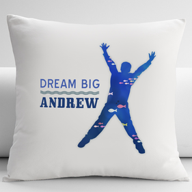Personalized Big Dream Cushion Cover