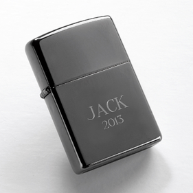 Personalized Black Lighter