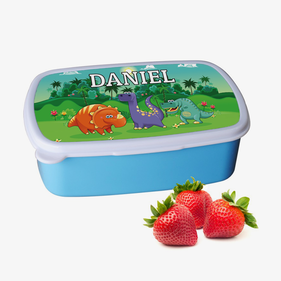 Personalized Dinosaur Plastic Lunch Box