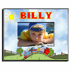 Personalized Picture Frames for Boys
