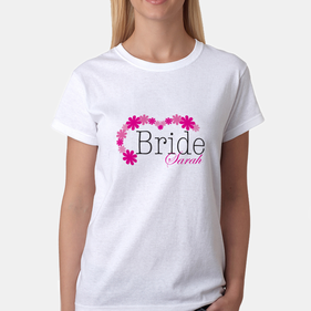 Personalized Bridal T-Shirt