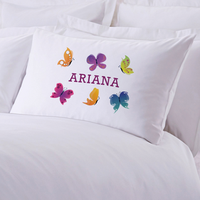Exclusive Sale - Personalized Butterfly Pillow Case
