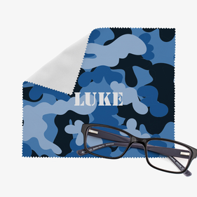 Personalized Camouflage Eye Glasses Cleaning Cloth