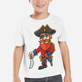 Exclusive Sale - Personalized Kid's Pirate T-Shirt