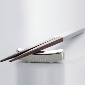 Personalized Chopstick Stand with Chopsticks