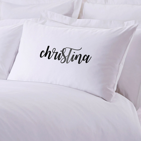 Personalized Christina Pillowcase