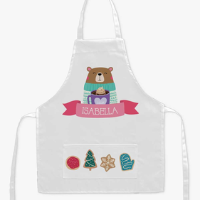 Personalized Christmas Bakery Kids Apron