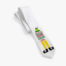 Personalized Christmas Elf Neck Tie