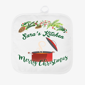 Personalized Christmas Hot Pad