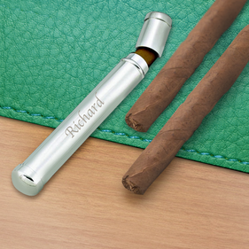 Personalized  Cigar Tube Single