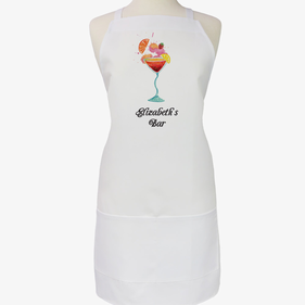 Personalized Cocktail Adult Apron