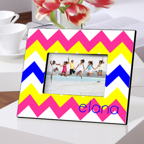 Personalized Colorful Picture Frames