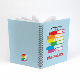 Personalized Comprehension Spiral Notebook