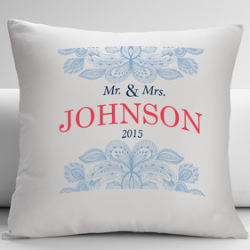 Personalized Couple Decorative Cushion Cover