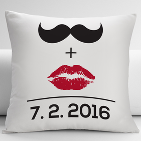 Personalized Couples Mr And Mrs Decorative Cushion Cover