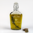 Personalized Couples Olive Oil Bottle