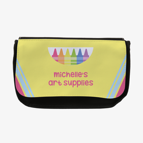 Personalized Crayon Pencil Case