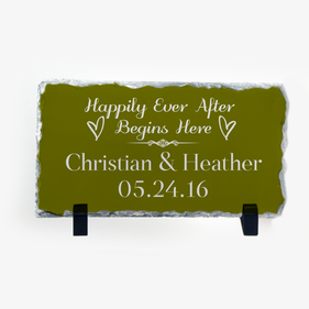 Personalized Custom Slate Pad With Stand