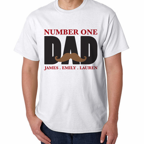 Personalized Dad  T-shirts