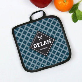 Personalized Diamond Design Potholder