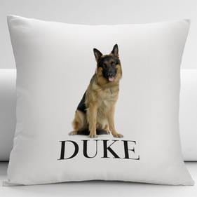 Personalized Dog Decorative Cushion Cover